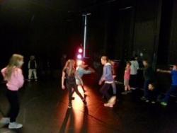 Drama Group Rehearsing