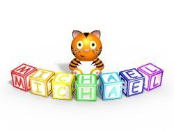 Tee Dee Designs - Michael the Tiger