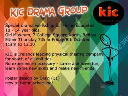 KIC Drama Group Flier